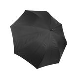 Opened black umbrella Stock Photography