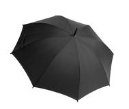 Opened Black umbrella Royalty Free Stock Photography