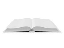 Opened Blank Book Royalty Free Stock Image