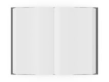 Opened Blank Book Royalty Free Stock Photography