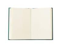Opened book. Isolated on white background Royalty Free Stock Photo