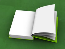 Opened book. Stock Image