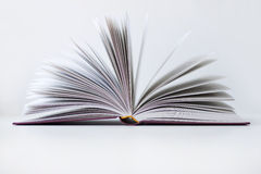 The opened book Royalty Free Stock Photos