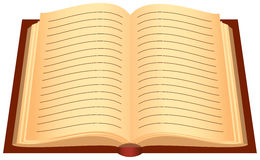 Opened book Stock Image