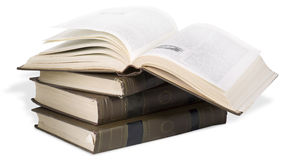 Opened book Stock Photography
