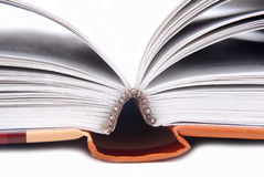 Opened book. Close up of the opened book Royalty Free Stock Photos