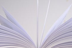 Opened book detail Royalty Free Stock Photo
