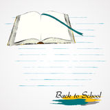 Opened book Royalty Free Stock Photos