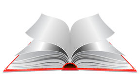 Opened book illustration Royalty Free Stock Photography