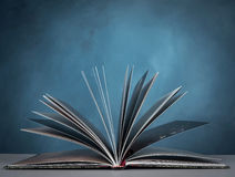 Opened book. Open a book for imagination of world wide and  knowledge Royalty Free Stock Image
