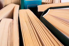 Opened books Royalty Free Stock Image