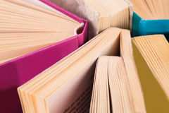 Opened books Stock Photography