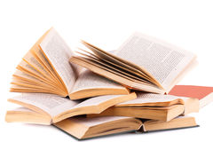 Opened books Royalty Free Stock Photo
