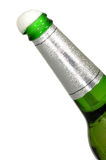 Opened Bottle Of Beer And Foam Royalty Free Stock Image