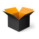 Opened box Stock Photos