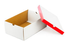Opened box Stock Photos
