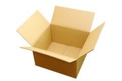Opened box overlook Royalty Free Stock Photo