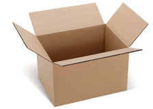 Opened box. Vector illustration Royalty Free Stock Images