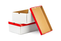 Opened boxes Royalty Free Stock Images