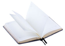 Opened Business Diary Stock Images
