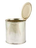 Opened can Stock Photography