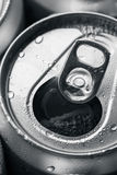 Opened canned beer Royalty Free Stock Images