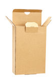 Opened cardboard box Royalty Free Stock Photography