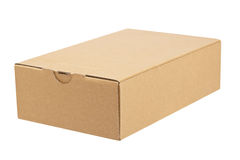 Opened cardboard box Stock Image