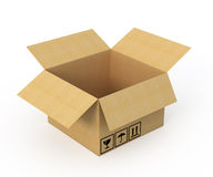 Opened Cardboard box Royalty Free Stock Images