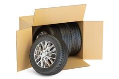 Cardboard Box Car Wheels Stock Illustrations 94 Cardboard Box