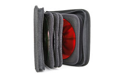 An opened cd case Stock Photography