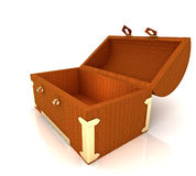 Opened chest Royalty Free Stock Photography
