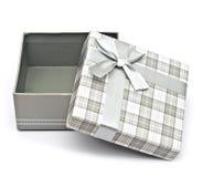 Opened Christmas gift box Royalty Free Stock Photo