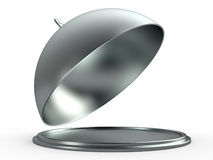 Opened cloche, 3D Stock Photos