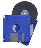 Opened computer disk Stock Image