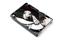 Opened computer hard drive Royalty Free Stock Images