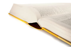 Opened dictionary book Royalty Free Stock Images