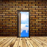 Opened door Royalty Free Stock Images
