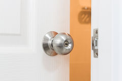 Opened door Stock Photography
