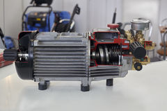 Opened electric motor Stock Image