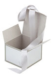Opened empty gift box Royalty Free Stock Images