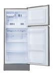Opened empty refrigerator Royalty Free Stock Photo