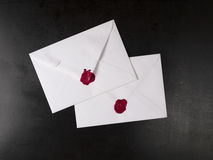 Opened envelope Royalty Free Stock Photo