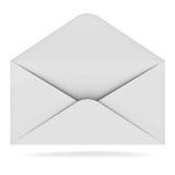 Opened envelope Stock Photos