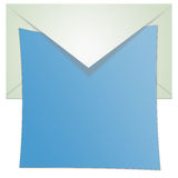 Opened Envelope Illustration Stock Photography