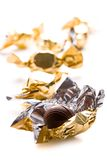 Opened Foil Candy Stock Photos