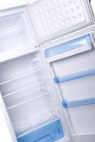 Opened fridge Stock Images