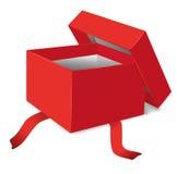 Opened gift box  illustration Stock Image