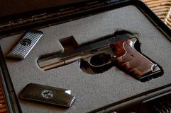 Opened Handgun Lockbox Stock Images