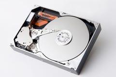 Opened hard disk royalty free stock image